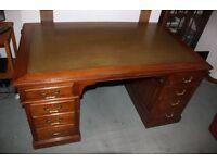 Antique Bankers Desk For Sale