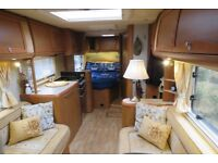 4 BERTH FIXED BED LWB MOTORHOME LOW MILEAGE