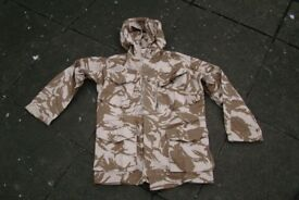British Military RAF Issue - Desert Windproof Smock - Size Medium