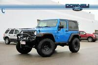 2015 Jeep Wrangler SPORT Willys Package - Performance suspension