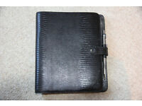 Leather Mulberry Large Filofax/ Unused & Mint Condition / Cost £350 New