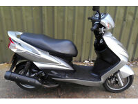 Yamaha NXC Cygnus X 125 scooter 2008 15k Years MOT 1 owner HPI Clear SH PS PCX