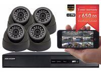 4 Full HD 1080P CCTV CAMERAS PACKAGE