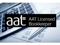 AAT Licensed Bookkeeper offering professional and reliable service!
