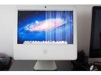 iMac 17-inch, Late 2006. 2 Ghz Intel Core 2 duo processor