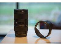 Sigma ART AF 18-35mm F1.8 DC HSM Canon EF Mount