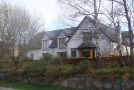 Stunning House for sale beside the River Spey, in Aberlour, Scotland.