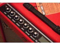 Fender mustang III V2 100 Watt guitar amp limited edition red