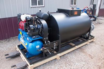 Asphalt Sealcoating 1-12 Pump Hydraulic Sealcoat Tank Big A Custom Sold