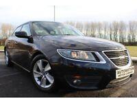 2010 Saab 9-5 2.0 TiD Vector SE Black 98,000 Fsh Very Clean £5495