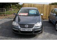 2007 Volkswagen Jetta SE, 1.9 TDI, Grey, 12 months MOT, Service history, 2 Owners, Serviced