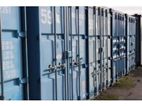 Container Storage on secure site - available immediately