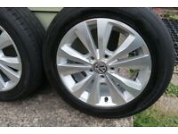 VW Golf MK7 Wheels and Tyres