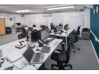 12 desks available now for £1200.00 per month