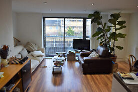 2 double bedroom, 1 bathroom, living rm/diner 1st floor Dalston flat, new build block, quiet lane