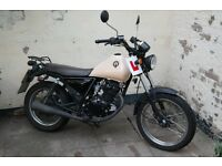 Sinnis Trackster 125cc Motorbike