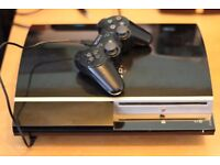 PS3 Fat Version 80GB. Non-working CD drive.