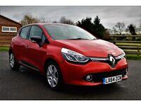 Renault Clio 1.2 16v Dynamique MediaNav 5dr £6995 (still like a new) 2014 (64 reg), Hatchback
