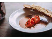 Full-time commis chef required for The Table Cafe, Bankside, Southwark, London