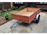 car trailer 6x4 for moving bike motorcycle furniture
