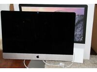 For sale: Imac (late 2014) 27 inch retina screen, RAM: 24gb. Perfect condition.