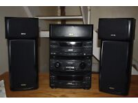 Akai full Hi Fi system 5 CD player and tape deck REDUCED