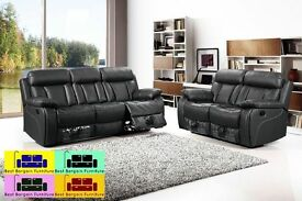 !!!BEST BARGAIN EVER!!! Newyork RECLINER SOFA IN BLACK AND BROWN COLOR ,,WE COVER ALL AREAS