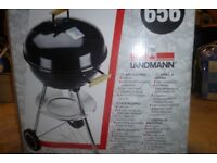 charcoal bq round still in box never used