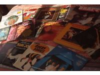 HUGE COLLECTION OF LP'S AND SINGLES.