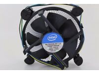 Genuine intel stock Heat sink Fan CPU/Processor cooler (Copper Base)