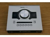 Apollo twin duo audio interface (thunderbolt)