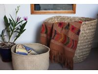 Beautiful Mexican hand woven baskets