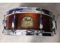 """Pearl Omar Hakim Signature Snare Drum 13""""x5"""""""