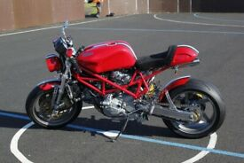 Ducatti Cafe Racer based on Ducati Monster 916 Sell or Swap