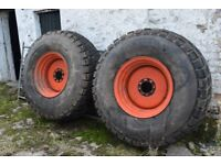 Floatation Tyres and Rims suit Tractor or tanker