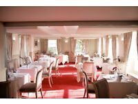 Experienced Barman/waiter to work in our bar and fine dining restaurant and brasserie