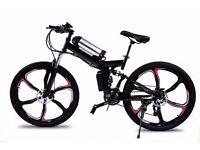Brand New Electric Folding Bike Go Go Jedi Black
