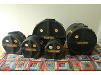 Drum cases by HARDCASE - £100