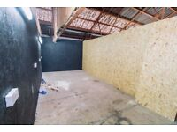 Large space great for messy & noisy working Lincoln Street | 5a