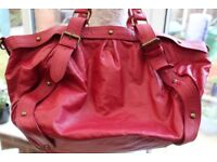 Warehouse red handbag - excellent condition