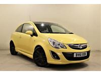 VAUXHALL CORSA 1.2 LIMITED EDITION 3d 83 BHP (yellow) 2011