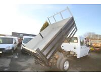 FORD TRANSIT 100 T-350 LWB DOUBLE CAB TIPPER – 07-REG