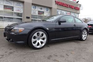 2005 BMW 6 Series 645Ci Navigation, Clean, full options