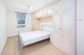 Beautiful 3 double bedroom flat, bright and airy reception, integrated appliances, private garden.