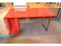 Red Office Desk GT 745