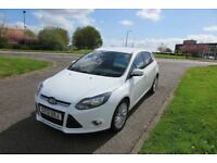 FORD FOCUS 1.6 ZETEC TDCI,2013,Low Miles,Alloys,Air Con,Parking Sensors,68mpg,£20 Road Tax,F.S.H