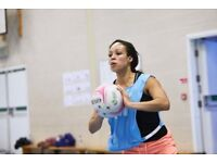Spaces in Clapham South Netball League!