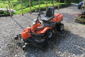 Huskvarna R12V2 AWD with out front cutter