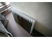 Cast iron radiator- 4 ft