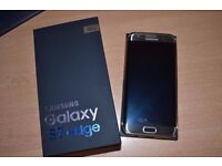 SAMSUNG GALAXY S7 EDGE 32GB ONYX BLACK- MINT CONDITION - 1MONTH OLD, UNLOCKED ALL NETWOKRS - BOXED